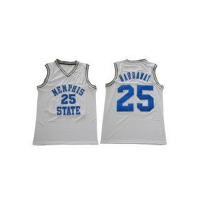 Memphis Tigers Penny Hardaway White Jersey